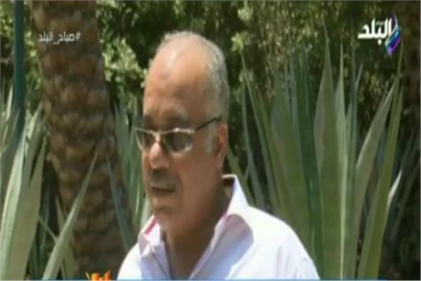 الدكتور رشاد رحيم مدير عام حدائق الحيوان بالجيزة