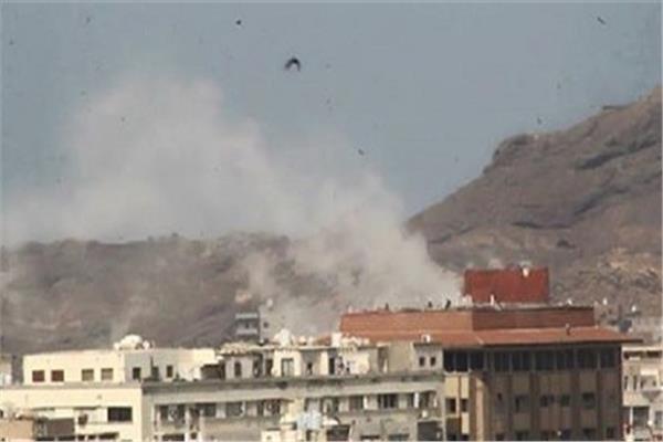 قصف للحوثيين على نجران