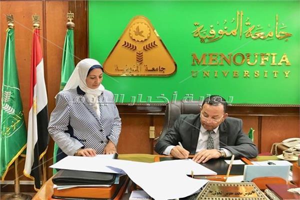 رئيس جامعة المنوفية يعتمد نتيجة الفرقة الأولى للعلوم الطبية
