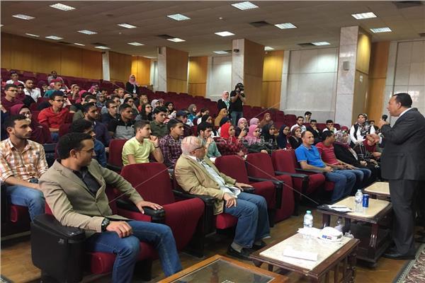 مؤتمر لتعريف طلاب الثانوية العامة بكليات جامعة المنوفية