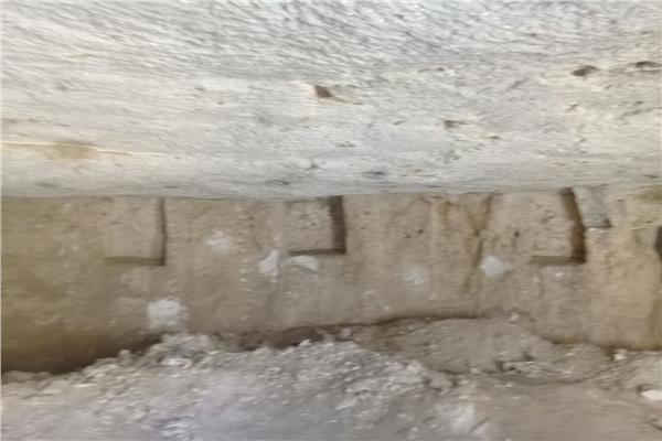 الموقع الأثري بالمنيا