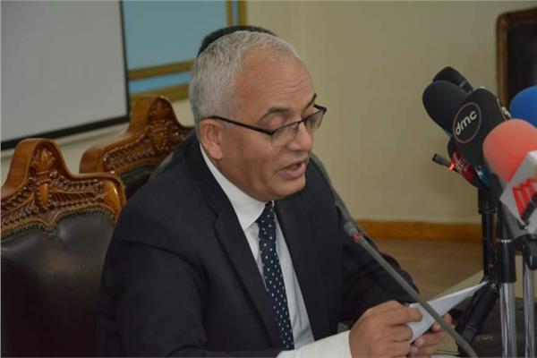 رضا حجازى رئيس قطاع التعليم العام ورئيس امتحانات الثانوية العامة