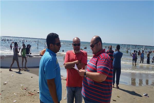 مجلس مدينة رأس البر: 100 منقذ لتأمين الشواطئ