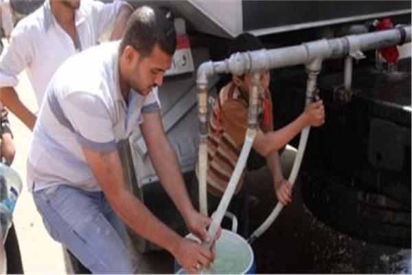 قطع مياه الشرب في بعض مناطق مدينة نصر