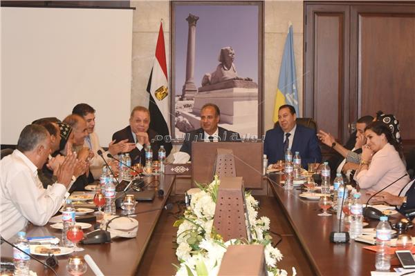تشكيل لجنة لتطوير منطقة أبو مينا الأثرية في الإسكندرية