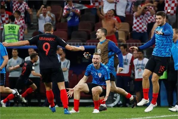 فرحة كرواتية بالتأهل