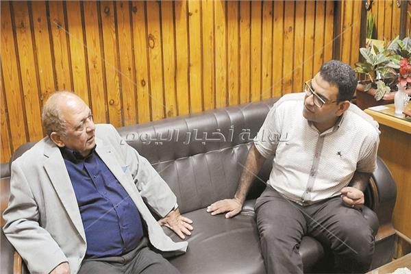 د.سعيد توفيق خلال الحوار