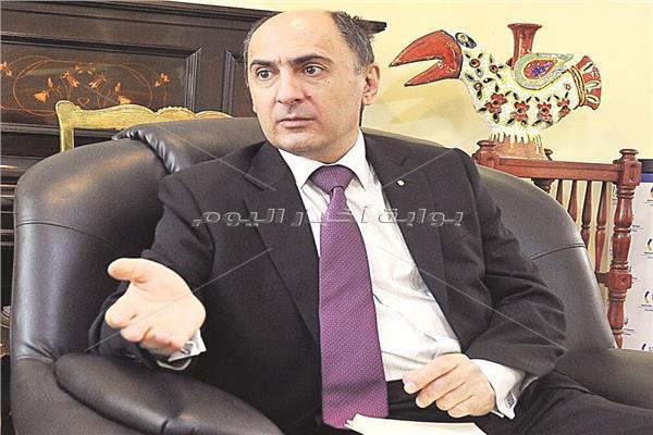 السفير الأوكراني خلال الحوار