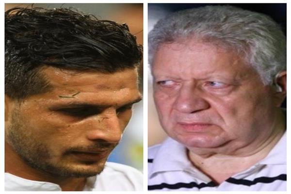 مرتضى منصور و طارق حامد