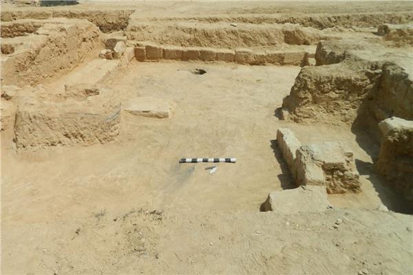 كشف أثري جديد بمنطقة «ميت أبو الكوم»