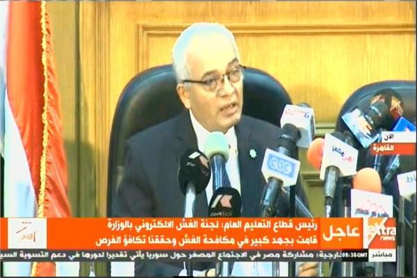 الدكتور رضا حجازي رئيس قطاع التعليم
