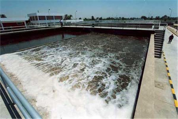محطة تنقية مياه مدينة قنا الجديدة