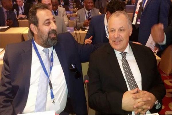 هاني أبو ريدة ومجدي عبد الغني