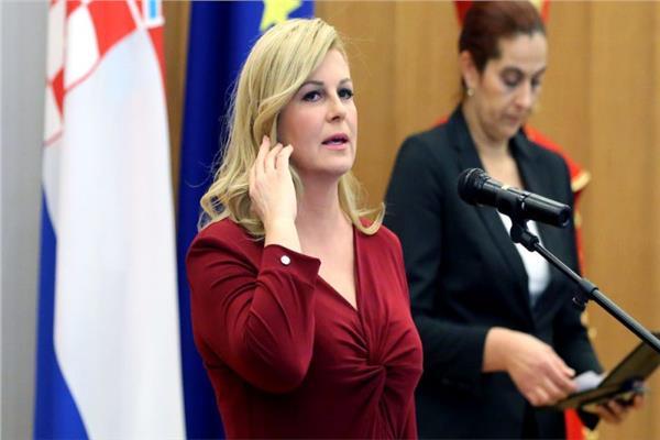 كولندا غرابار كيتاروفيتش رئيس الجمهورية الكرواتية