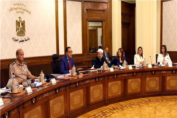 جانب من اجتماع مجلس الوزراء