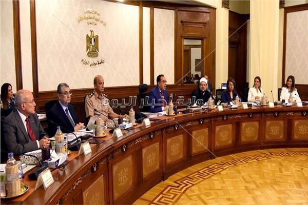 جانب من اجتماع مجلس الوزراء - تصوير أشرف شحاتة