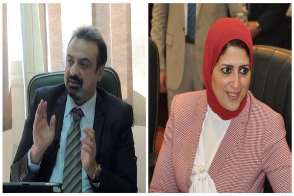 د.هالة زايد ود. حسام عبد الغفار