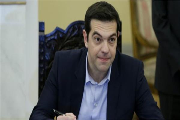 رئيس وزراء اليونان أليكسيس تسيبراس