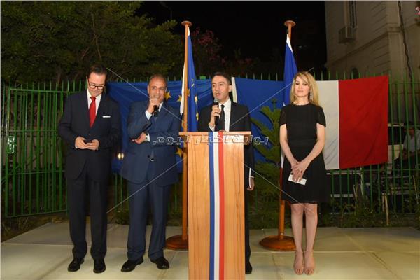 محافظ الإسكندرية يشارك في الاحتفال بالعيد الوطني لفرنسا
