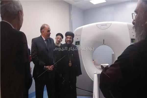 افتتاح قسمي الاستقبال والطوارئ بمستشفى ماري مرقس في الإسكندرية