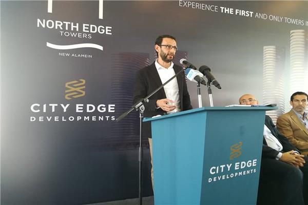 المهندس ياسر البلتاجي-رئيس المكتب المسئول عن التصميمات المعمارية