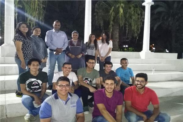 أوركسترا جامعة المنيا يختتم دورته بمعهد إعداد القادة بحلوان