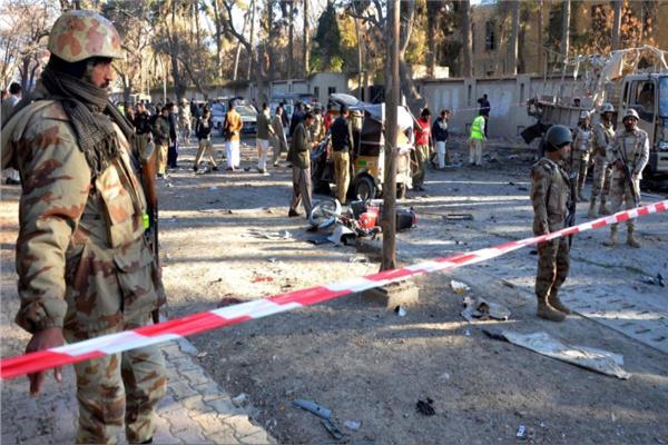 الهجوم الإرهابي على جنوب غربي باكستان