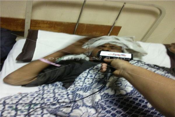 صالح إبراهيم مصاب في قطار البدرشين