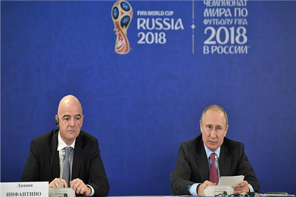 فلاديمير بوتين وجاني ألفانتينو
