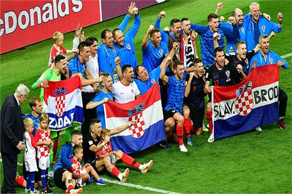 فرحة كرواتية بالتأهل للنهائي