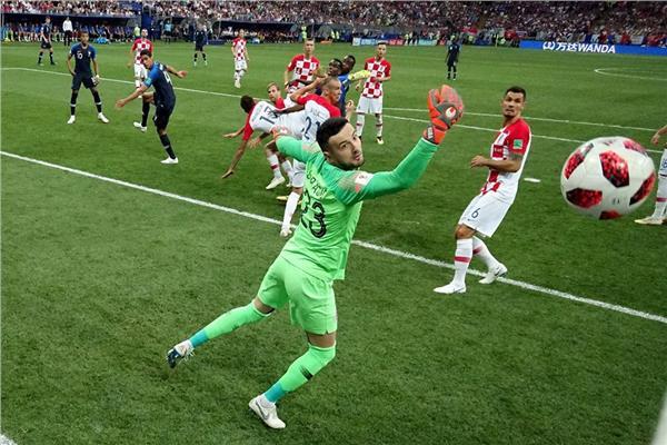 هدف فرنسا الأول في كرواتيا