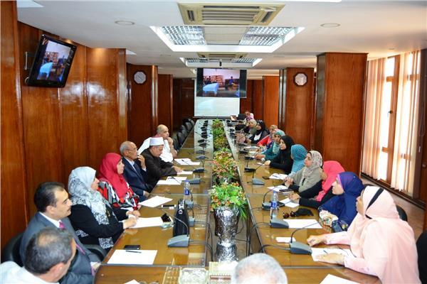 اجتماع لجنة اللجنة العليا لحماية الطفل