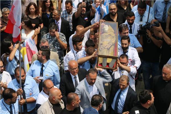 لبنان يستقبل القديسة مارينا
