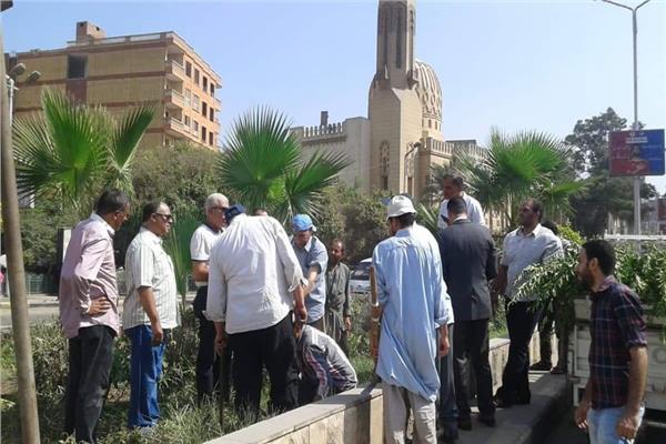 حملة لزراعة 1000 شجرة مثمرة بحي شمال الجيزة