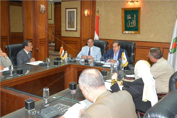 اجتماع المجلس الاقليمى للصحة بسوهاج