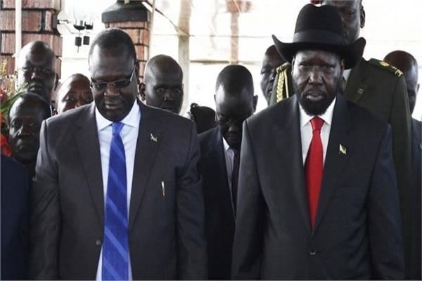 رئيس جنوب السودان وزعيم المعارضة