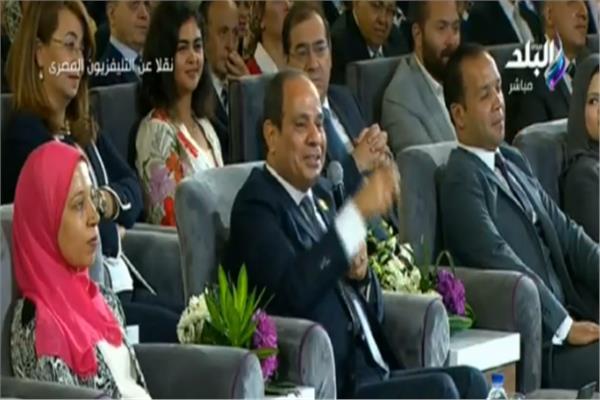 مؤتمر الشباب 2018| السيسي يكلف القوات المسلحة بتبني «الهوية المصرية»