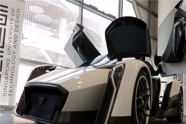 """مشروع سيارة """"Dendrobium D-1"""" الكهربائية"""