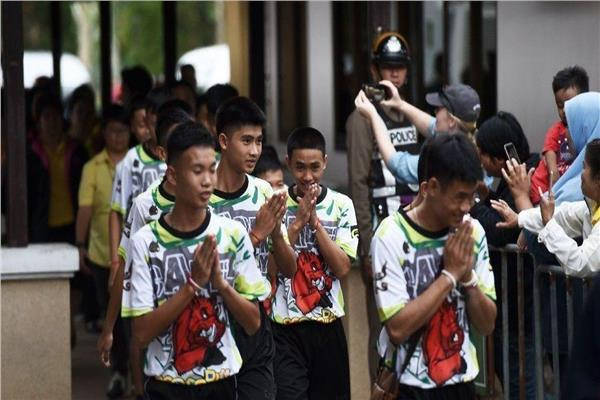 صورة أرشيفية - فتية الكهف بتايلاند