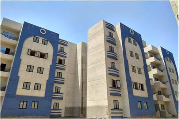 الانتهاء من 860 وحدة سكنية بمشروع تطوير مناطق هاجوج والإصلاح والجناين ببورسعيد
