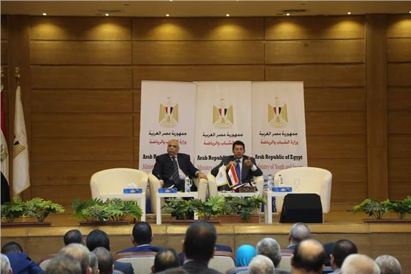 أشرف صبحي: مراكز الشباب نقاط انطلاق لخدمة المجتمع