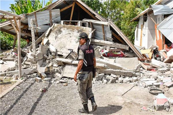 زلزال ضرب إندونيسيا