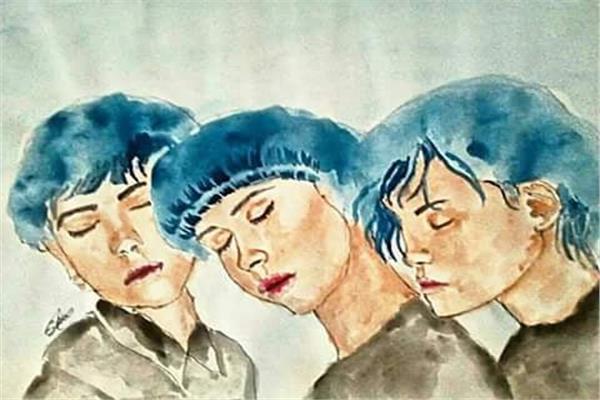 لوحات فنية لسارة سعيد