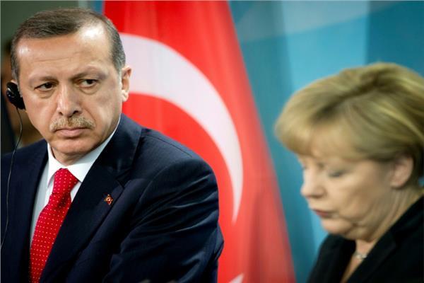 أنجيلا ميركل ورجب طيب أردوغان