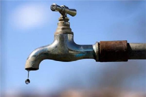 قطع مياه الشرب عن بعض مناطق الفيوم