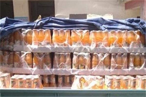 «الصحة»: مصادرة 6 طن «دوم» وإعدام 984 لتر عصائر ومشروبات فاسدة