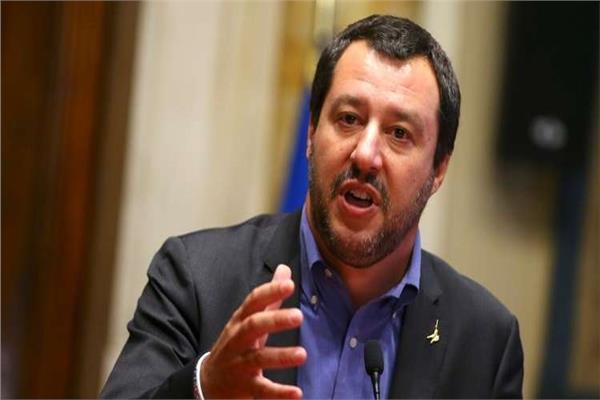وزير الداخلية الايطالي ماتيو سالفيني