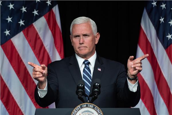 نائب الرئيس الأمريكي، مايك بنس