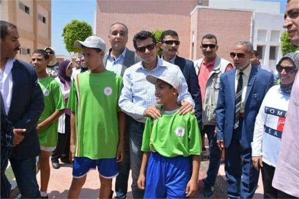 أشرف صبحي: نعمل على دمج أطفال الرعاية الاجتماعية وتنمية مهاراتهم الرياضية