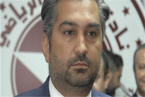 أسعد صقال رئيس نادي النجمة اللبناني